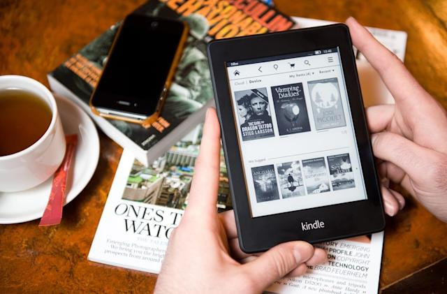 Your old Amazon Kindle needs an update to stay online