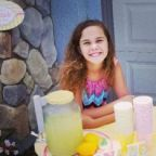 Girl Who Was Told Off By Man For Her Lemonade Stand Starts Anti-Bullying Campaign