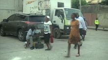 Fieles acuden a misa en Haití