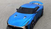 搶先預覽 Nissan 聯手 Italdesign 打造日產 GT-R50 藍色樣式完整面貌