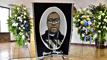 George Floyd honored at memorial in N.C.