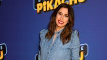 Stacey Solomon says 'guitar string' stretch marks on chest help baby Rex get to sleep in adorable Instagram post