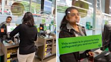 Woolworths rolls out screens to protect checkout staff amid COVID-19 pandemic
