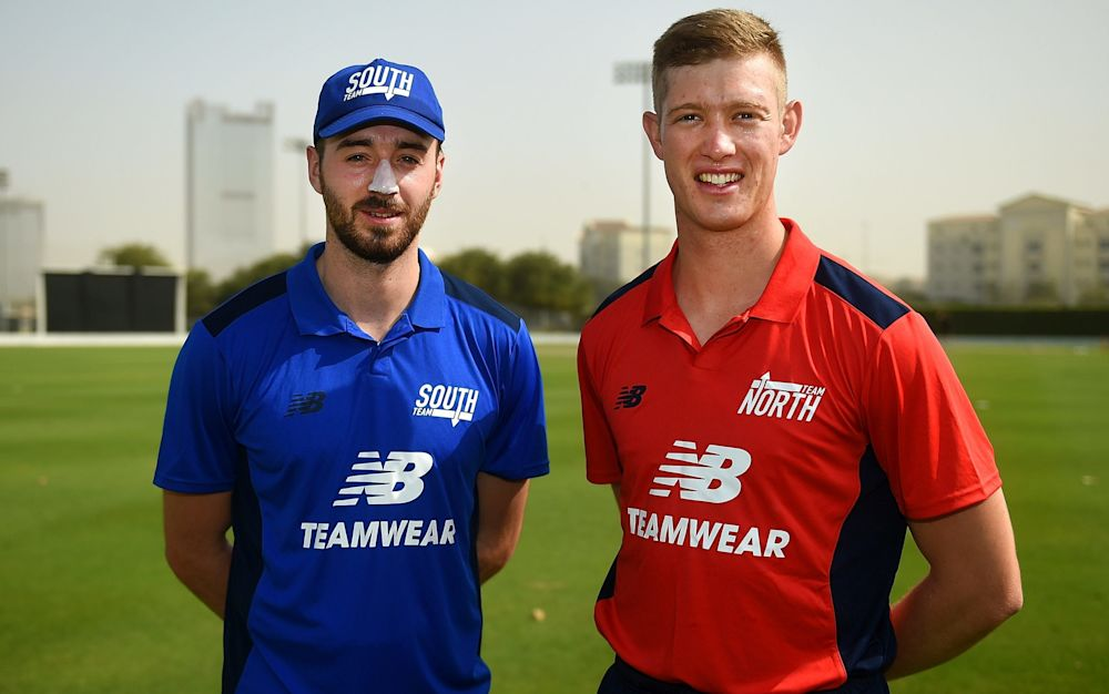 James Vince (South) and Keaton Jennings (North) - 2017 Getty Images