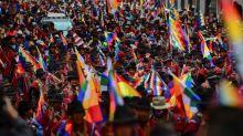 'Volta Evo', grita multidão em La Paz