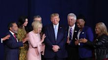 Trump tells religious leaders: 'We're going to beat this plague'