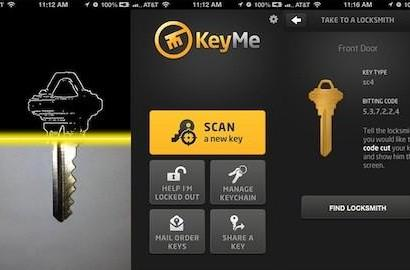 KeyMe for iOS lets you digitize your house keys for safekeeping