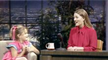 Promo for Drew Barrymore's new daytime show features interview with her younger self, and it's 'magic'