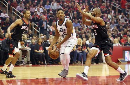 NBA  Playoffs-Utah Jazz at Houston Rockets 397f50e34