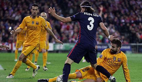 Primera Division: Atleticos Filipe Luis lobt Pique: Mehr sollten so sein wie er