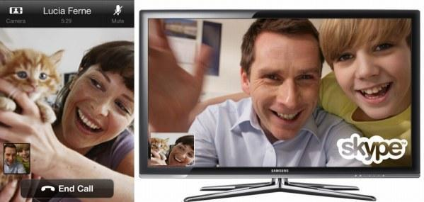Skype for iPhone upgrade lets it videocall Skype for TV, if you actually want to