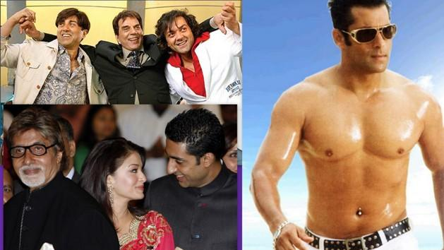 Salman, Deols and Bachchans not in Bollywood glory?