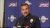 LAPD Chief: Skid Row Suspect Reached for Gun
