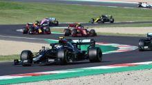 El GP de F1 de la Toscana se interrumpió dos veces después de accidentes y safety cars