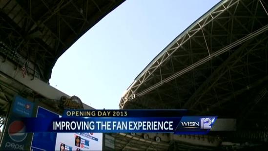 Miller Park has plenty of fun for fans this season