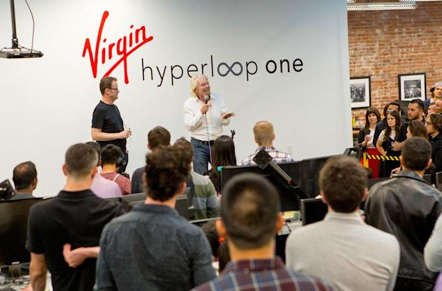Richard Branson steps down as Virgin Hyperloop One chairman