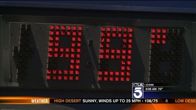 Southern California Bakes Amid Triple-Digit Temps