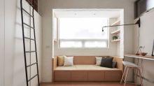 Diese winzige Wohnung beweist, dass ein gemütliches Zuhause nicht viel Platz braucht