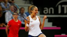Keys sends U.S. into second straight Fed Cup final