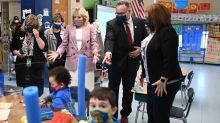 It's back to school for Jill Biden and new education chief