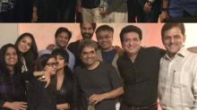 Shahid-Mira party with Vishal Bhardwaj, Sajid Nadiadwala & team Rangoon!