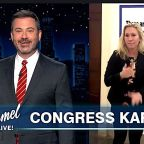 Jimmy Kimmel Blasts Marjorie Taylor Greene: 'Frontrunner For Worst Human Of '21'