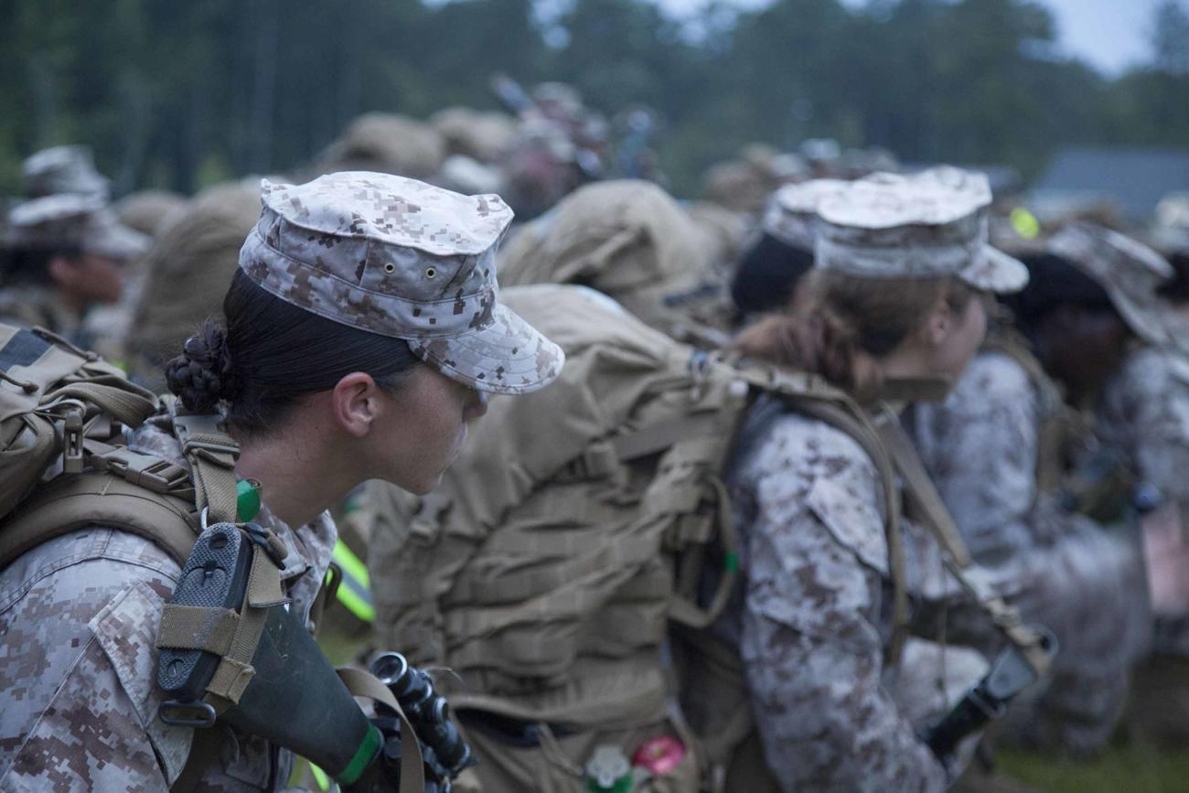 There Are No Women Leading Marine Infantry Platoons. The Corps Wants to Change That