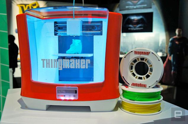 Mattel won't sell a 3D printer for toys this holiday after all