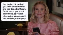 Anna Faris, Kristen Bell and More Stars Read Their Moms' Hilarious Texts for Mother's Day