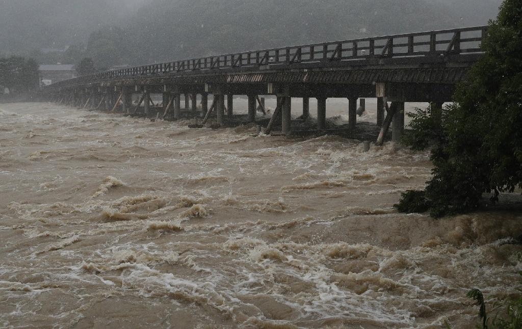 Typhoon Jongdari is expected to cross parts of Japan already devastated by floods and landslides
