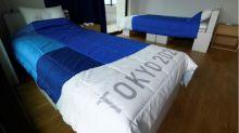 東奧設紙床架為防性行為?