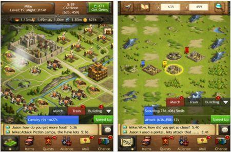 Daily iPad App: Kingdoms of Camelot: Battle for the North is a freemium gem