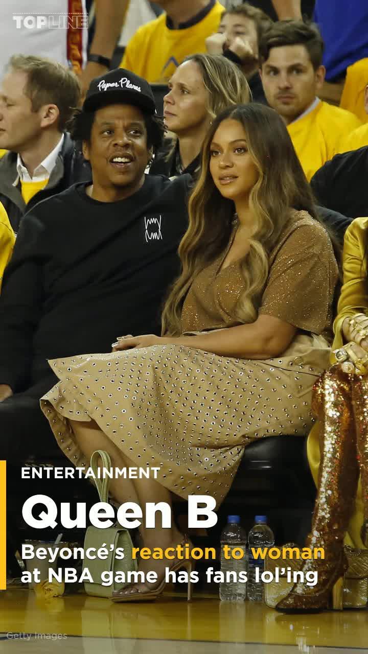 Beyoncés reaction to woman talking to Jay-Z has Twitter