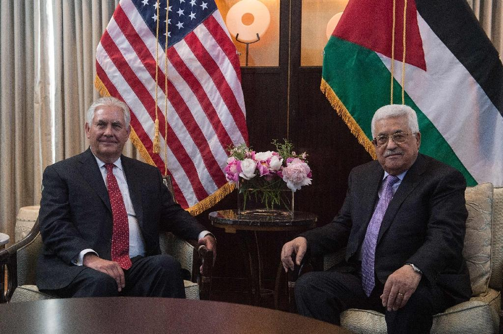 US Secretary of State Rex Tillerson and Palestinian president Mahmud Abbas met in Washington last month to discuss the moribund Middle East peace process