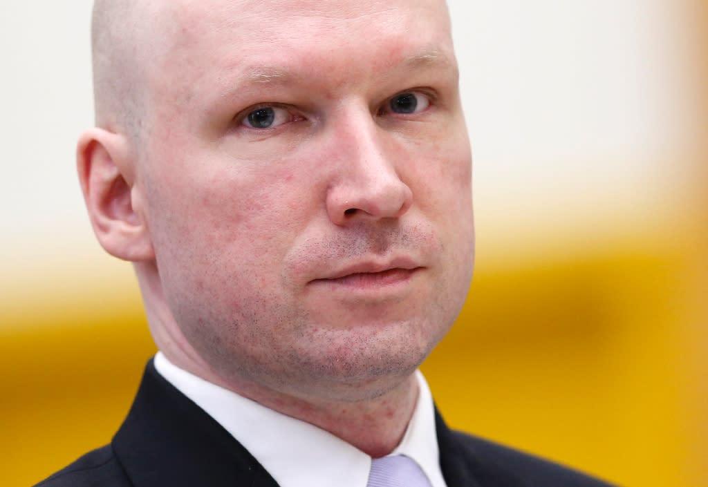 Norwegian mass killer Anders Behring Breivik massacred 77 people on July 22, 2011 (AFP Photo/Lise Aserud)