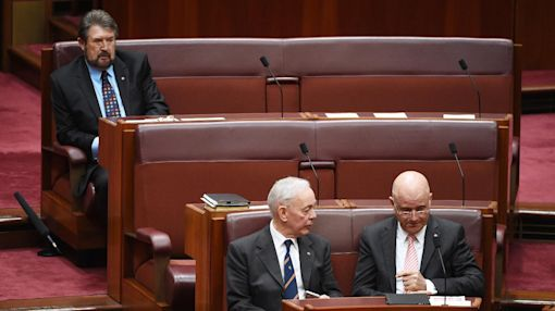Australian senator caught napping still fan of press freedom
