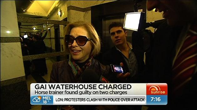 Waterhouse guilty of two charges
