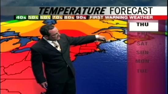 Matt's Thursday afternoon forecast