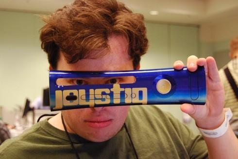 The mystery of the Joystiq faceplate, solved