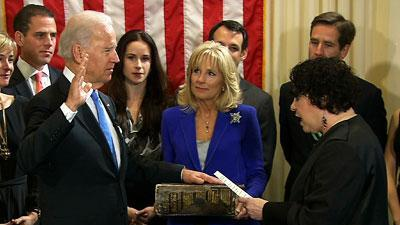 Raw: Biden Sworn in for 2nd Term