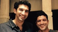 Farhan Akhtar poses with Aditya Roy Kapur amidst rumour of their big fight over Shraddha Kapoor
