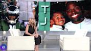 Eagles WR's son, 3, gives greatest interview