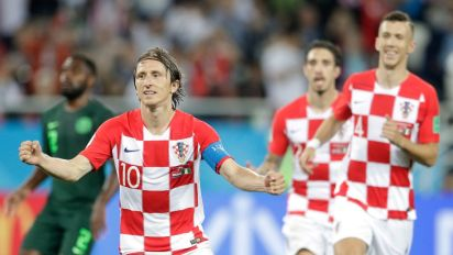 Luka Modric Named 2018 FIFA Men's Player of The Year