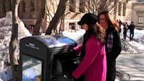 Solar-Powered Trashcan Of The Future