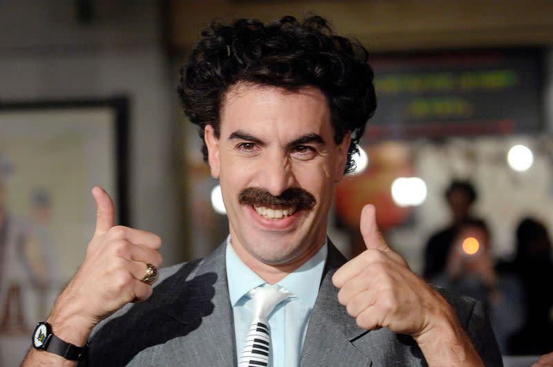 'Very Nice!' - Kazakhstan taps new Borat movie to woo tourists