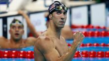 Michael Phelps raced a great white shark, and it was epic
