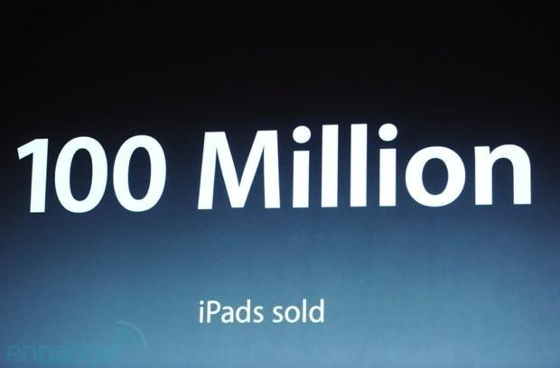 Apple iPad sales topped 100 million two weeks ago