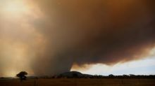 Canberra faces bushfires threat from out-of-control blaze started by military helicopter
