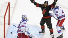 Hockey - NHL - Carolina bat les New York Rangers pour la reprise de la saison