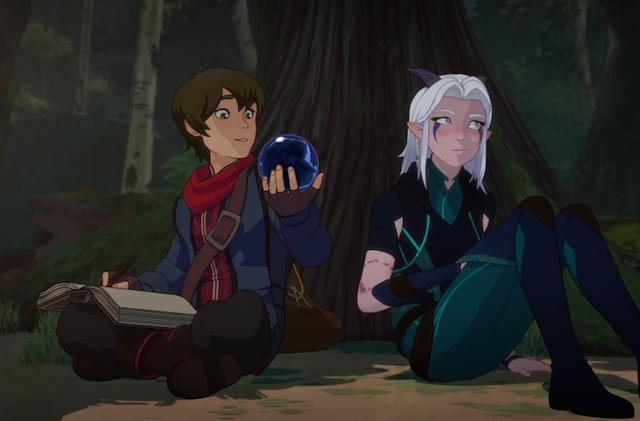 Netflix's 'The Dragon Prince' will return for a second season